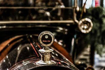Radiator ornament op een Kissel-Kar van autofotografie nederland