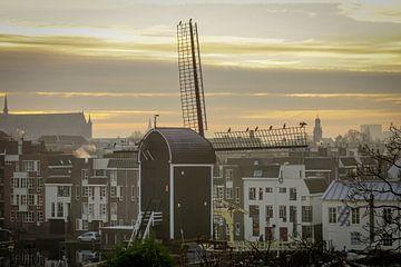 Molen de Put in Leiden van Dirk van Egmond