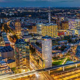 Skyline stad Den Haag van Original Mostert Photography
