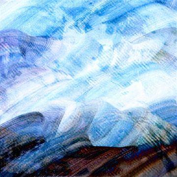 Pinselstriche XX von Maurice Dawson
