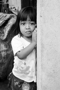 Meisje in Sidemen, Bali