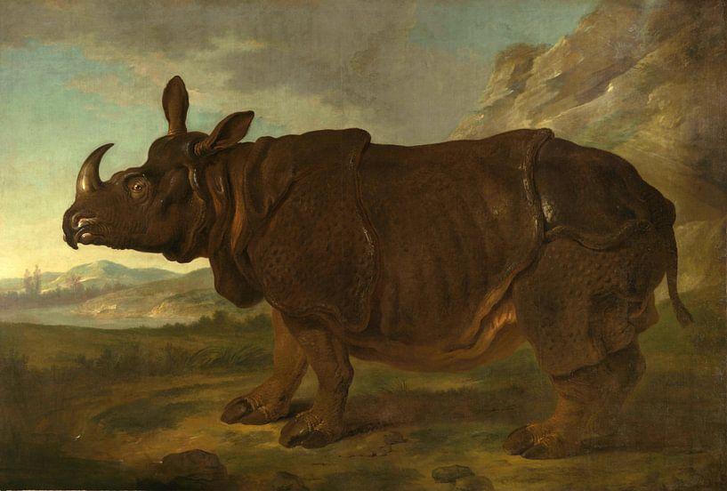 Nashorn, Jean-Baptiste Oudry von Meesterlijcke Meesters