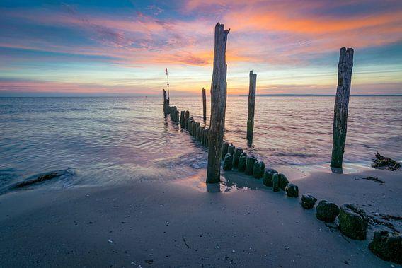 Ochtend aan de Oostzee