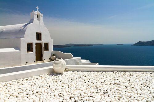 Kapel in Santorini