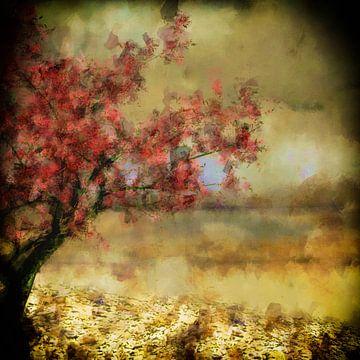 Zierkirschenblütenbaum van Dagmar Marina