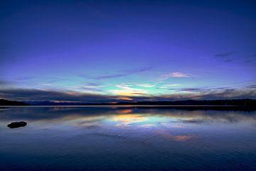 Coucher de soleil au lac Starnberg sur Roith Fotografie
