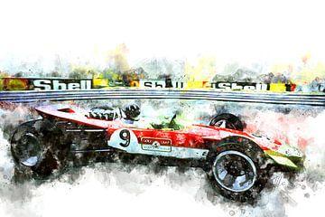Graham Hill Monaco von Theodor Decker