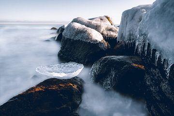Winter aan de Oostzee van Pitkovskiy Photography ART