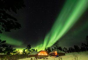 Genieten van het Noorderlicht van Karin Mooren