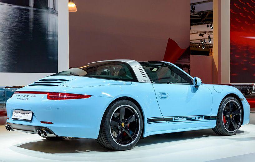 Porsche 911 Targa 4S Sportwagen Rückansicht von Sjoerd van der Wal