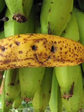Banana smile van Daphne Wessel