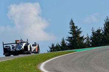 Porsche 919 Hybrid race auto op Spa Francorcahmps van