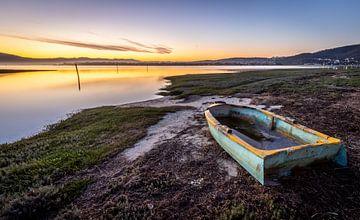 Sonnenuntergang in Knysna (Südafrika). von Claudio Duarte