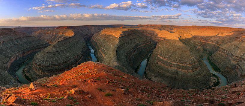 Goosenecks State Park, Utah van Henk Meijer Photography