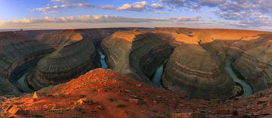 Goosenecks State Park - Utah van Henk Meijer Photography