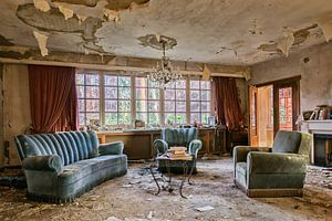 Lost Place  - the Livingroom