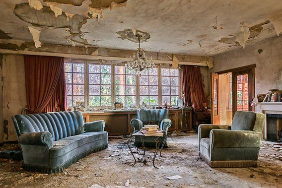 Lost Place  - the Livingroom van Linda Lu