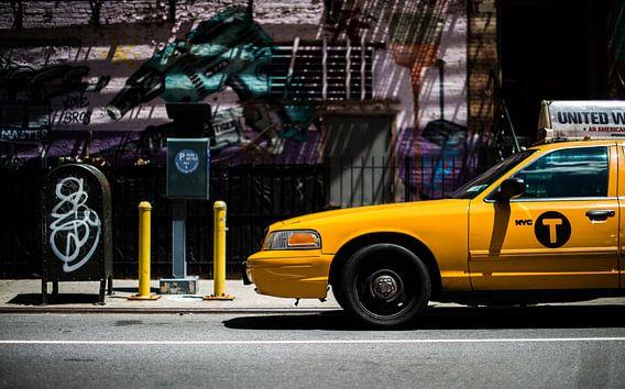 New York Taxi van Dennis Wierenga