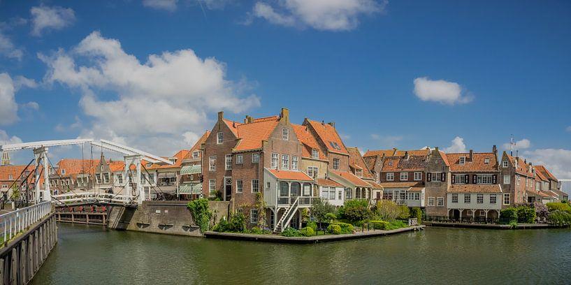 Häuser in Enkhuizen von Martijn Tilroe