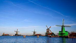 Nederlandse molens aan de Zaanse schans