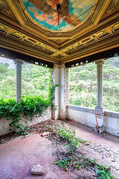 Ecke in Abandoned Castle. von Roman Robroek