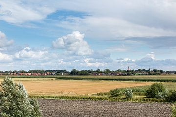Felder in Ostfriesland van Rolf Pötsch