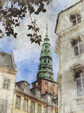 De toren van Kopenhagen van Joost Hogervorst