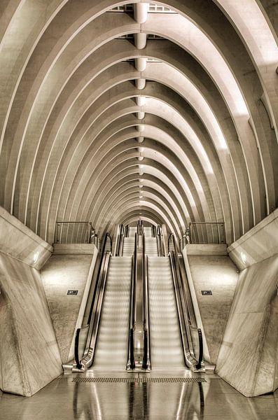 Station Luik I van Photography by Karim