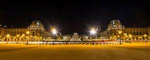 Museum Louvre bij avond - Parijs - 3