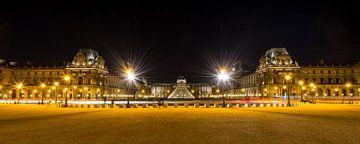 Museum Louvre bij avond - Parijs - 3 van