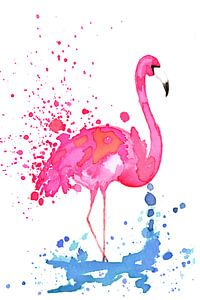 Flamingo von Jolanda Berbee