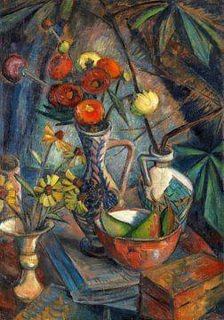 Stilleben mit Blumen, Dorothea Maetzel-Johannsen, 1920 von Atelier Liesjes
