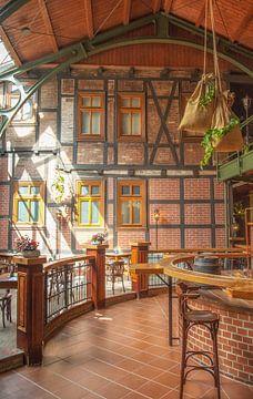 Historische biercafé van Sergej Nickel