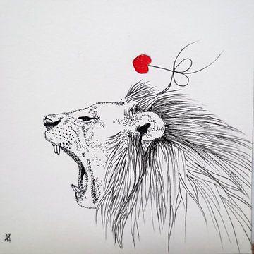 HeartFlow Leeuw von Helma van der Zwan