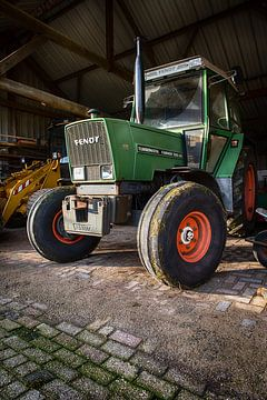 Der Traktor des Landwirts