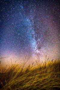 Melkweg vanuit het duin
