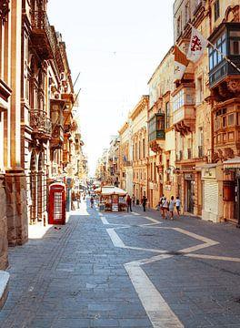 Valetta Inenstadt op Malta van Robert Styppa