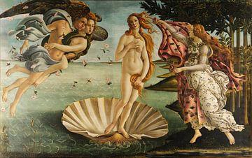 Die Geburt der Venus (Sandro Botticelli) von Rebel Ontwerp