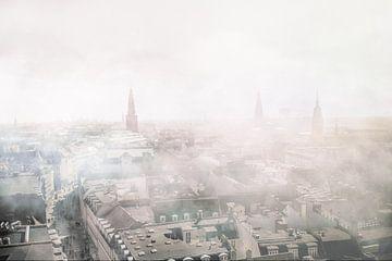 Kopenhagen in de mist van Elianne van Turennout