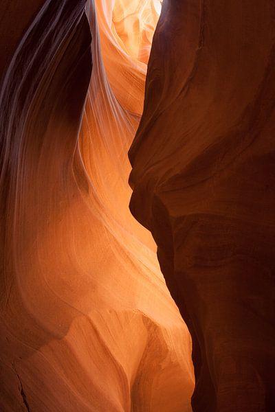 Antelope Canyon Silhouette van Eric - Zichtbaar.com
