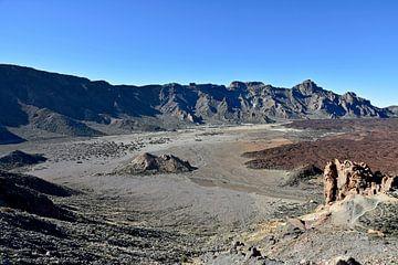 Vulkaan landschap op Tenerife, Spain van Jutta Klassen