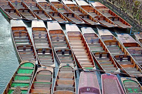 Bateaux à Oxford, Angleterre sur