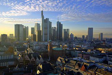 Gezicht op Frankfurt van Patrick Lohmüller