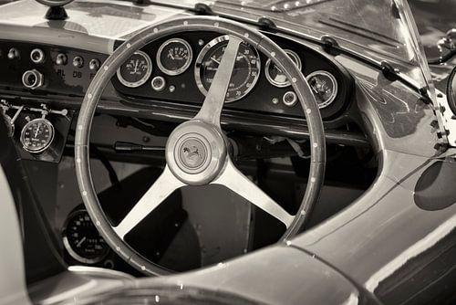 Ferrari 500 Mondial SL Competizione dashboard