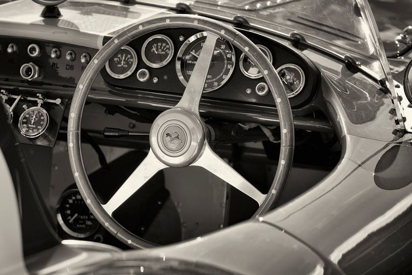 Ferrari 500 Mondial SL Competizione dashboard van Sjoerd van der Wal