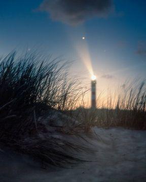 Dünenblick auf den Leuchtturm von wukasz.p
