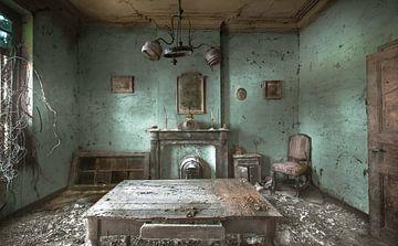 Chambre froide sur Olivier Van Cauwelaert