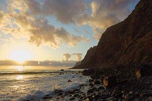 Zonsondergang in Madeira