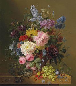 Lilacs Peonies, Arnoldus Bloemers