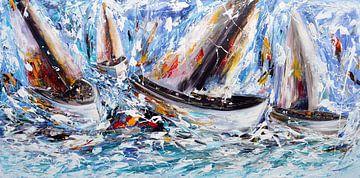 Sailing von Gena Theheartofart